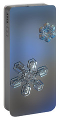 Crystals Of Day Portable Battery Charger by Alexey Kljatov