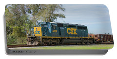 Portable Battery Charger featuring the photograph Csx Sd40-3 by John Black