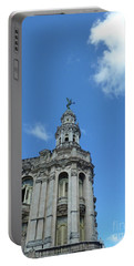 Cuba Architect And Skies Portable Battery Charger