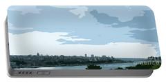 Cuba City And Skyline Art Ed2 Portable Battery Charger