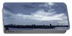 Cuba City And Skyline Art Ed4 Portable Battery Charger