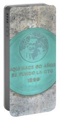 Cuba Plaque 1999 Portable Battery Charger