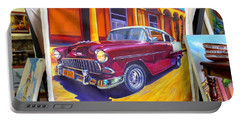 Cuban Art Cars Portable Battery Charger