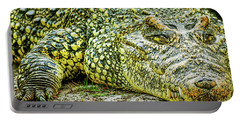 Cuban Croc Portable Battery Charger