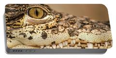 Cuban Croc Smile Portable Battery Charger