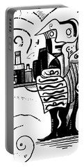 Cubist Waiter Portable Battery Charger