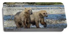 Cubs On The Prowl Portable Battery Charger