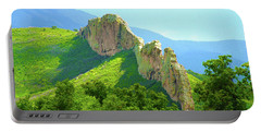Portable Battery Charger featuring the photograph Cuchara Ridge by Marie Leslie