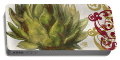 Cucina Italiana Artichoke Portable Battery Charger by Mindy Sommers