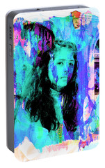 Portable Battery Charger featuring the photograph Cuenca Kids 892 by Al Bourassa