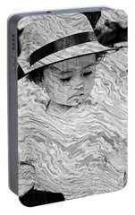 Portable Battery Charger featuring the photograph Cuenca Kids 894 by Al Bourassa