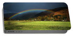 Cumbrian Rainbow Portable Battery Charger