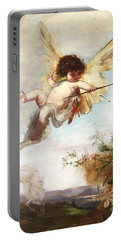 Cupid With A Bow Portable Battery Charger