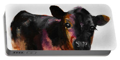 Buster The Calf Painting Portable Battery Charger