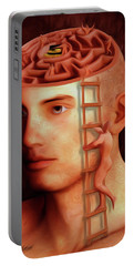 Brain Freeze Paintings Portable Battery Chargers