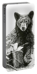 Curious Young Bear Portable Battery Charger