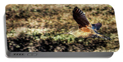 Curlew In Flight Portable Battery Charger