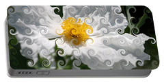 Curlicue Fantasy Bloom Portable Battery Charger