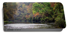 Current River Fall Portable Battery Charger