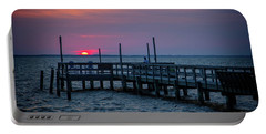 Currituck Sunset Portable Battery Charger
