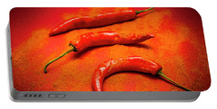 Curry Shop Art Portable Battery Charger