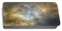 Curtain Of Clouds Eclipse Portable Battery Charger