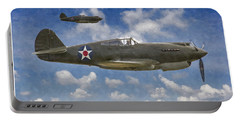 Curtis P-40 Warhawks Portable Battery Charger by Kai Saarto