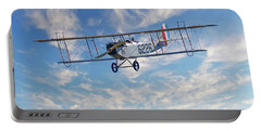 Curtiss Jn-4h Biplane Portable Battery Charger