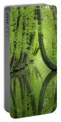 Curved Trees Portable Battery Charger