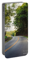 Curvy Road Portable Battery Charger