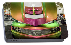 Portable Battery Charger featuring the photograph Custom Camaro by Randy Scherkenbach