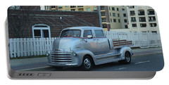 Portable Battery Charger featuring the photograph Custom Chevy Asbury Park Nj by Terry DeLuco
