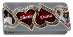 Custom Hearts Portable Battery Charger