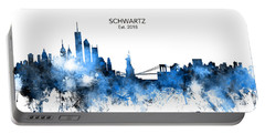 Custom New York Skyline Portable Battery Charger