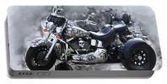 Customized Harley Davidson Portable Battery Charger