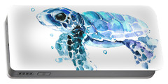 Cute Baby Turtle Portable Battery Charger by Suren Nersisyan