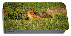 Cute Ground Squirrels Portable Battery Charger