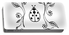 Cute Ladybug Baby Room Decor IIi Portable Battery Charger