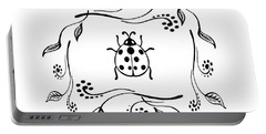 Cute Ladybug Baby Room Decor Iv Portable Battery Charger