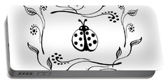 Cute Ladybug Baby Room Decor V Portable Battery Charger
