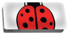 Cute Ladybug For Kids Portable Battery Charger