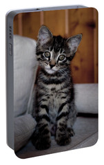 Portable Battery Charger featuring the photograph Cute by Laura Melis