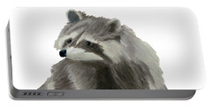Cute Raccoon Portable Battery Charger