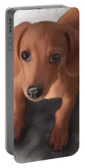 Cutest Pup Ever Portable Battery Charger