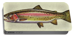 Cutthroat Trout Id Portable Battery Charger