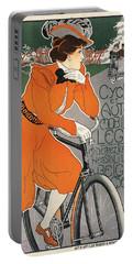 Cycles Et Automobiles Legia Poster 1898 Portable Battery Charger