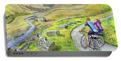 Lancashire Lanes I Portable Battery Charger by Mark Jones