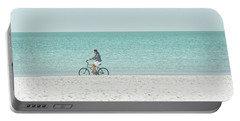 Cycling The Beach Portable Battery Charger