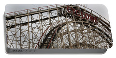 Cyclone Roller Coaster Coney Island Ny Portable Battery Charger