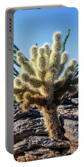Cylindropuntia Bigelovii Portable Battery Charger